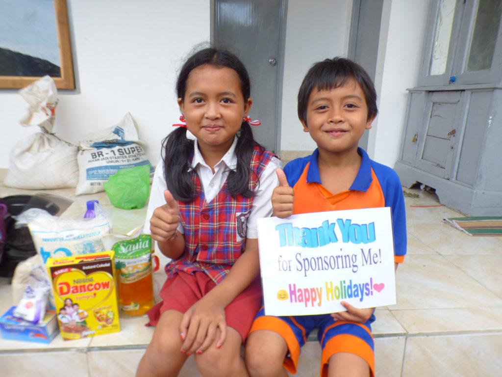 kids reading in bali